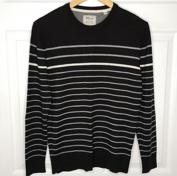 Mexx Round Neck Wool Blend Pullover Sweater